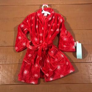 Cat & Jack Plush Robe Sz XS (4/5)
